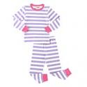 Deals List: Fiream Girls Boys Pajamas Sets Cotton Striped Sleepwear
