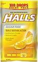 Deals List: Halls Sugar-Free Cough Drops, Honey Lemon, 180 Count