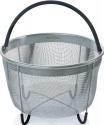 Deals List: Hatrigo Steamer Basket for Instant Pot Accessories 8 qt [3qt 6qt Avail] fits InstaPot, Ninja Foodi, Other Pressure Cookers, Strainer Insert for Insta Pot Ultra, Silicone Handle, for Instant Pot 8 Qt