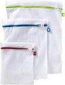 Deals List: Whitmor Color Coded Zippered Mesh Wash Bags (3 Piece Set)
