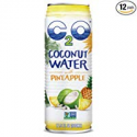 Deals List: C2O Pure Coconut Water with Pineapple, 17.5 Fluid Ounce (Pack of 12)