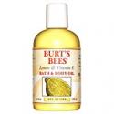 Deals List: Burts Bees 100% Natural Lemon & Vitamin E Body & Bath Oil 4 oz