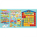Deals List: Scholastic SC939405 All-In-One Schoolhouse Calendar Bulletin Board