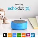 Deals List: Echo Dot Kids Edition, a smart speaker with Alexa for kids - blue case