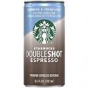 Deals List: Starbucks Doubleshot, Espresso + Cream Light, 6.5 Ounce, (Pack of 12)