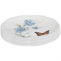 Deals List: Lenox Butterfly Meadow Party Plates, Set of 6