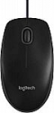 Deals List: Logitech B100 Corded Mouse – Wired USB Mouse for Computers and Laptops, for Right or Left Hand Use, Black