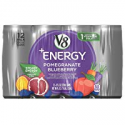 Deals List: V8 +Energy, Juice Drink with Green Tea, Pomegranate Blueberry, 8 oz. Can, 12 Count