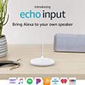 Deals List: Echo Input – Bring Alexa to your own speaker- White