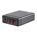 Deals List: 2 Monoprice 60W 4-Port USB Smart Charger + 2 USB Type-C Cable