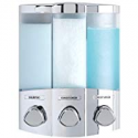 Deals List: Better Living Products 76344-1 Euro Series TRIO 3-Chamber Soap and Shower Dispenser, Chrome