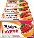 Deals List: Trident Layers Strawberry + Citrus Sugar Free Gum - 12 Packs (168 Pieces Total)