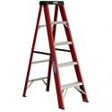 Deals List: Werner 5-ft Fiberglass Type 2 225 lbs. Capacity Step Ladder