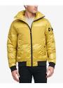 Deals List: DKNY Mixed Media Puffer Men's Bomber Jacket (5 colors)