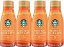 Deals List: Starbucks Starbucks Iced Latte Pumpkin Spice, 14 Ounce 8 Count, 8 Count