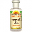 Deals List: Sundown Naturals Vitamin E Oil 70,000 IU, 2.50 Ounce Bottle (Pack of 3) Pure Vitamin E Oil for Dry Skin