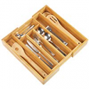 Deals List: Artmeer Expandable Bamboo Wooden Utensil Tray