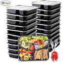 Deals List: 20-Pack BASA Meal Prep Containers 3 Compartment