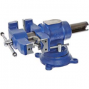 """Deals List: Yost Vises 750-DI 5"""" Heavy-Duty Multi-Jaw Rotating Combination Pipe and Bench Vise with 360-Degree Swivel Base and Head"""