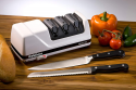 Deals List: Chef'sChoice 120 Diamond Hone EdgeSelect Professional Electric Knife Sharpener for 20-Degree Edges Diamond Abrasives Precision Guides for Straight and Serrated Knives Made in USA, 3-Stage, White