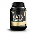 Deals List: Optimum Nutrition Oats and Whey Protein Powder Milk Chocolate 3-Lbs