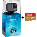 Deals List: Gopro Hero7 Silver Waterproof Action Camera w/32GB Micro SD Card