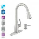 Deals List: MOEN Essie Single-Handle Pull-Down Sprayer Kitchen Faucet