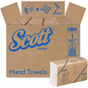 Deals List: Kimberly-Clark Professional Scott Essential Multifold Paper Towels (01804) with Fast-Drying Absorbency Pockets, White, 16 Packs/Case, 250 Multifold Towels/Pack