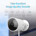Deals List: YI Outdoor Security Camera, 1080p Cloud Cam 2.4G Wireless IP Waterproof Night Vision Surveillance System with Two-Way Audio, Motion Detection, Activity Alert, Deterrent Alarm - iOS, Android App