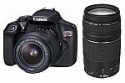 Deals List: Canon EOS Rebel T6 DSLR Camera with EF-S 18-55mm IS and EF 75-300mm III Lens Kit