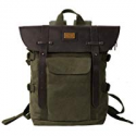 Deals List: Topwolfs Canvas Backpack Mens Leather Backpack