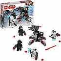 Deals List: LEGO Star Wars: The Last Jedi First Order Specialists Battle Pack 75197 Building Kit (108 Piece)
