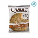Deals List: Quest Nutrition Peanut Butter Protein Cookie, High Protein, Low Carb, Gluten Free, Soy Free, 12 Count