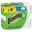 Deals List: 6-Pack Bounty Select-A-Size 2-Ply Paper Towels