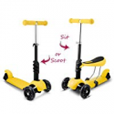 Deals List: Hikole Scooters for Kids 3-in-1 Toddlers Mini Kick Scooter