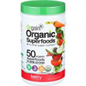 Deals List: Orgain Organic Superfoods Powder, Berry, Vegan, Gluten Free, Non-GMO, 0.62 Pound, 1 Count