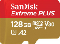 Deals List: SanDisk - Extreme PLUS 128GB microSDXC UHS-I Memory Card