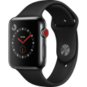 Deals List: Apple Watch Nike+ Series 3 42mm Smartwatch (GPS + Cellular, Silver Aluminum Case, Bright Crimson/Black Nike Sport Loop)