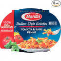 Deals List: Barilla Italian-Style Entrees, Tomato & Basil Penne, 9 Ounce (Pack of 6)