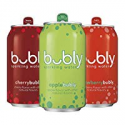 Deals List: bubly Sparkling Water Crisp Berry Cherry Variety Pack, 12oz Can, 18 Count
