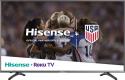 "Deals List: Hisense - 43"" Class - LED - R7 Series - 2160p - Smart - 4K UHD TV with HDR Roku TV, 43R7E"