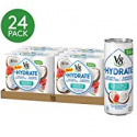 Deals List: V8 +Hydrate Plant-Based Hydrating Beverage, Coconut Watermelon, 8 oz. Can (4 packs of 6, Total of 24)