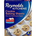 Deals List: Reynolds Kitchens Cookie Baking Parchment Paper Sheets (SmartGrid, Non-Stick, 22 Sheets)
