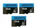 Deals List: 3 x ADATA 16GB Premier microSDHC 10 V10 A1 Memory Card