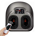 Deals List: Foot Massage AREALER Kneading Shiatsu Therapy Feet Massage Machine with Deep-Kneading, Built-in Heat Function, Air Compression, Perfect for Home Office