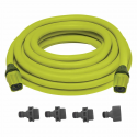 Deals List: Sun Joe Expandable Lightweight Kink-Free Hose | 75-Foot | Quick Connectors