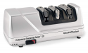 Deals List: Chef'sChoice 130 Professional Electric Knife Sharpening Station for Straight and Serrated Knives Diamond Abrasives and Precision Angle Guides Made in USA, 3-Stages, Platinum