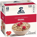 Deals List: Quaker Instant Oatmeal, Original, 48 Count, 0.98 oz Packets