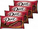 Deals List: DOVE PROMISES Valentine Dark Chocolate Candy Hearts 8.87-Ounce Bag (Pack of 4)