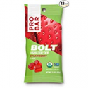 Deals List: PROBAR - BOLT Organic Energy Chews, Strawberry, 12 Count - USDA Organic, Gluten-Free, Fast Fuel Gummies